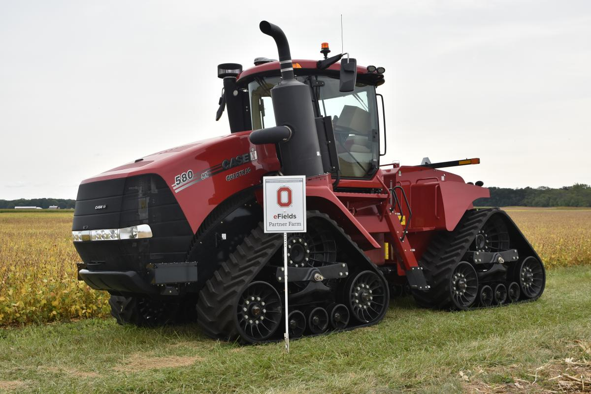 Case IH AFS Connect Steiger 540 Quatrac with AccuTurn